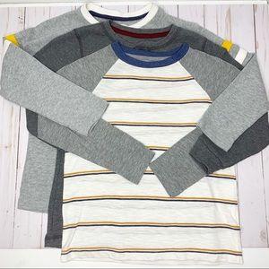 OLD NAVY Boys Bundle - 3 Long Sleeve Tops Small